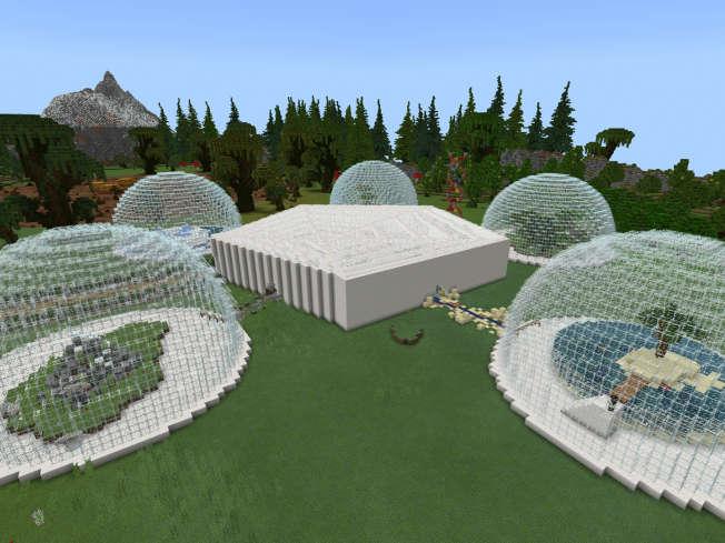 Biodiversiteit-les van Minecraft en WNF 6 november 2019 - Schoolit