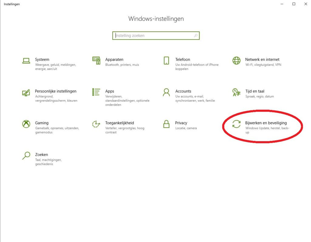 Na upgrade naar Windows 10 vindt je onder Instellingen je digitale licentie.