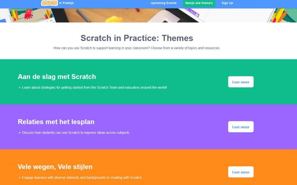 Scratch levert op SiP veel praktijkvoorbeelden.