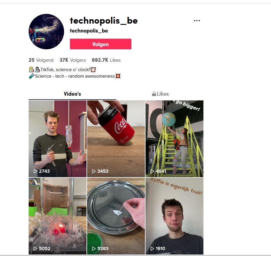 Technopolis op TikTok